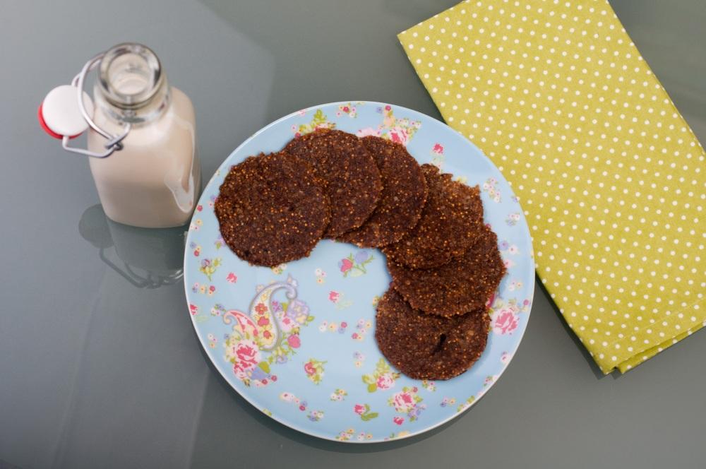 Меденки и бадемово мляко